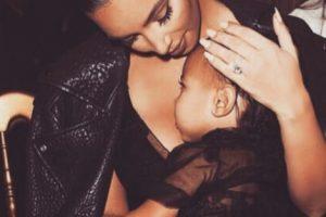O en los eventos de sus famosos padres. Foto:Instagram/kimkardashian