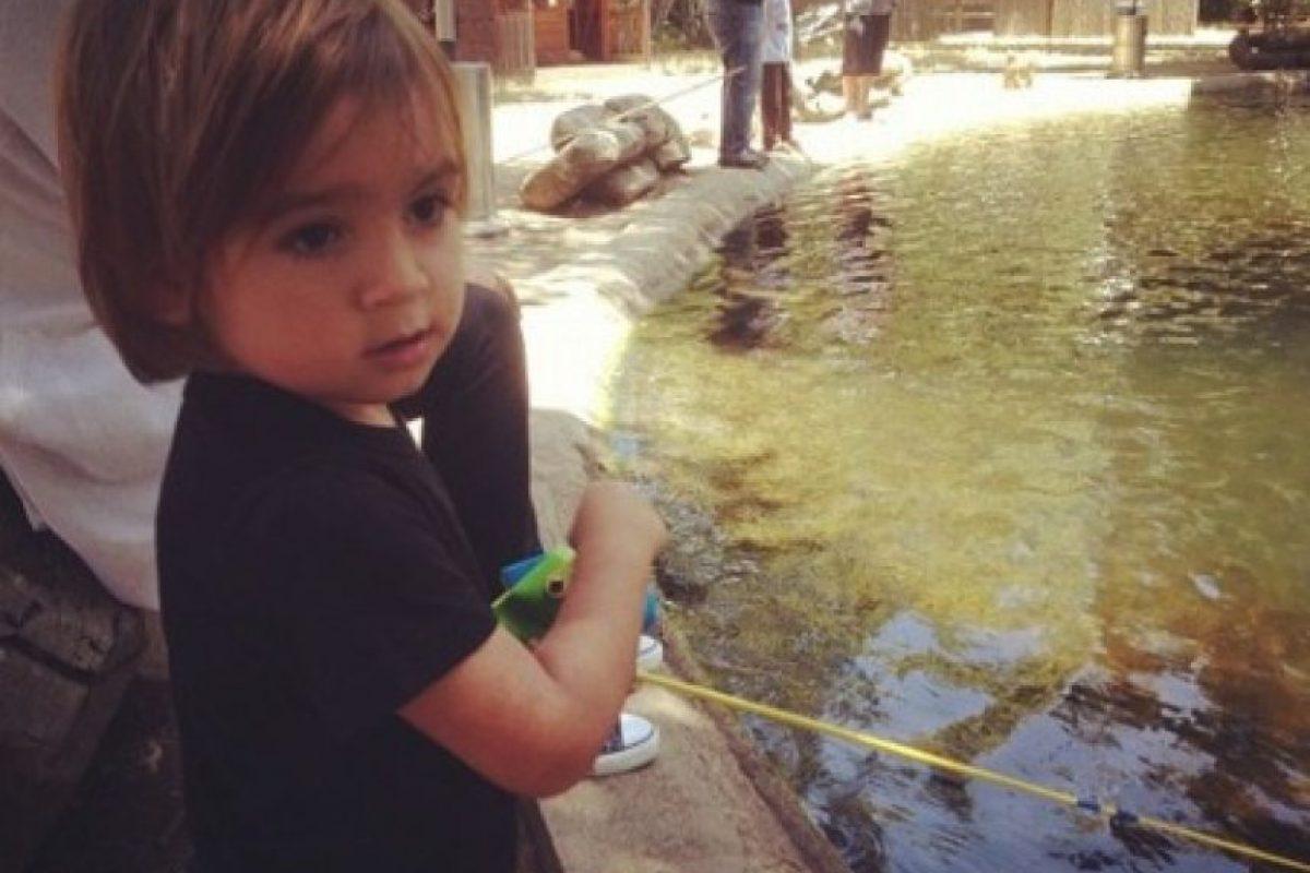Es hijo de Kourtney Kardashian con Scott Disick Foto:Instagram/kourtneykardash