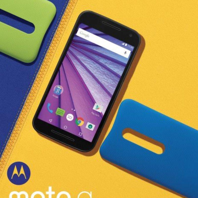 Les mostramos a detalle el Moto G 2015. Foto:Motorola