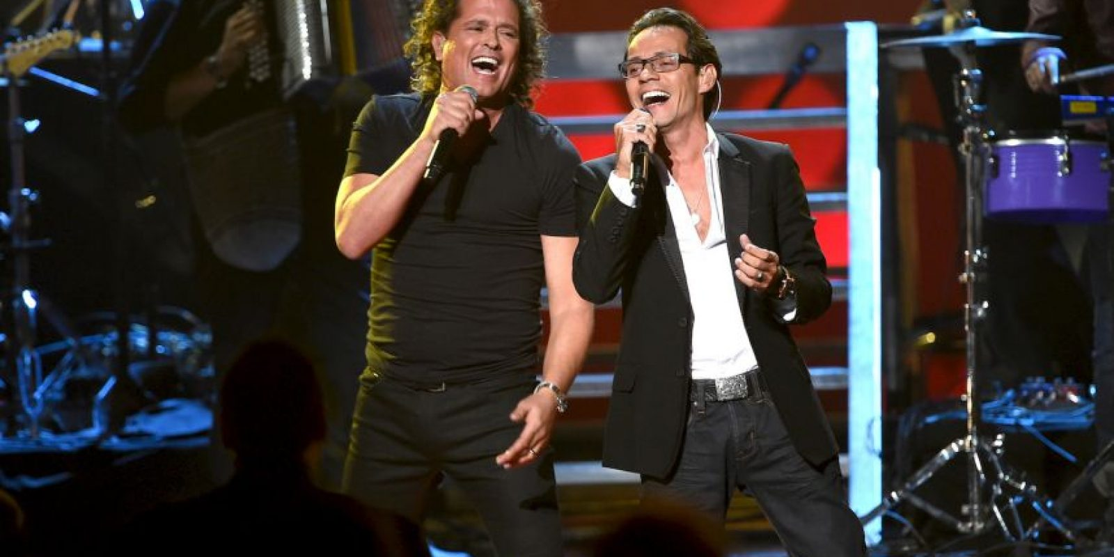 6. Marc Anthony y Carlos Vives Foto: Getty Images