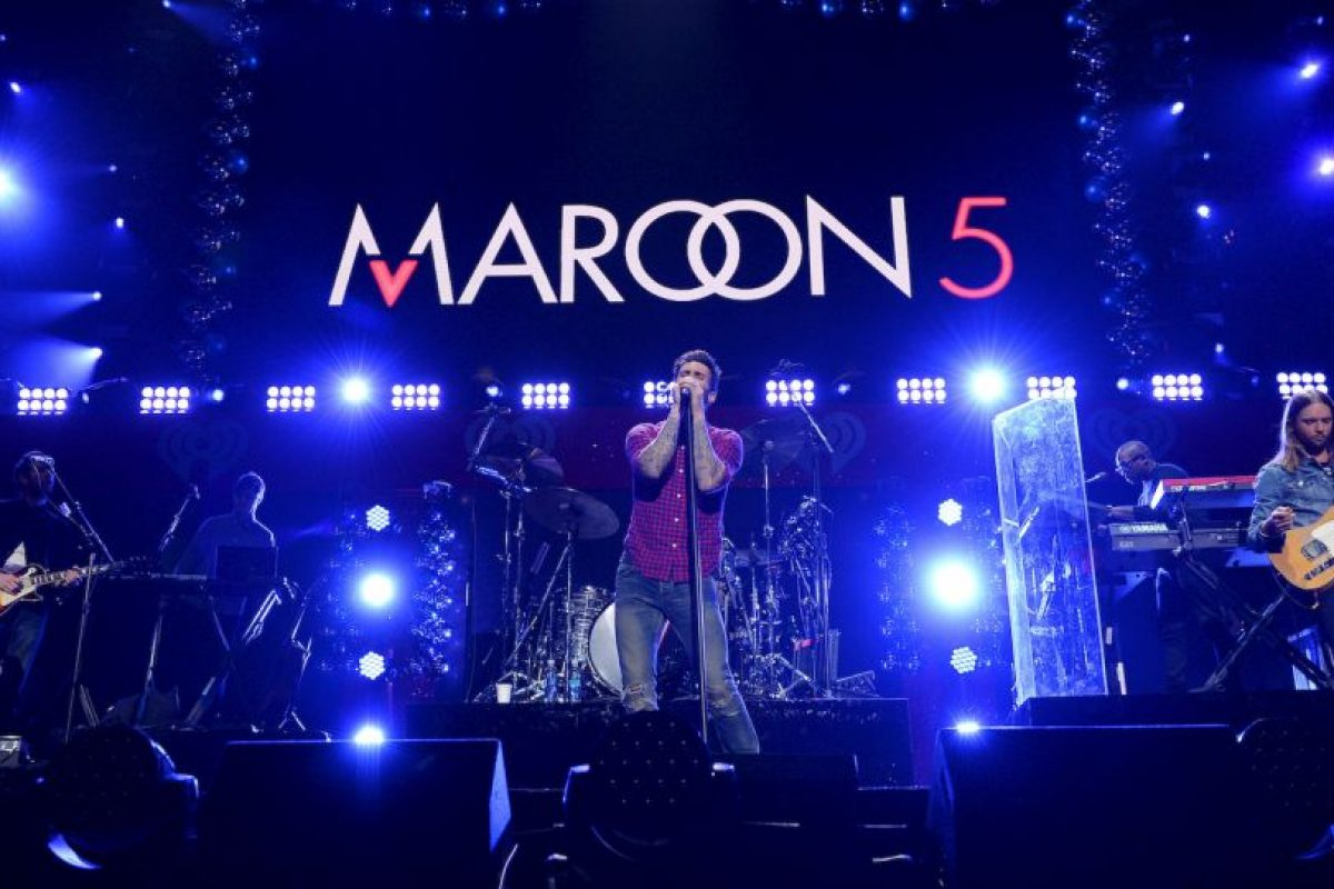 4. Maroon 5 Foto:Getty Images