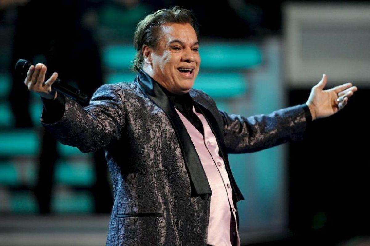 """La ganancia del """"divo de México"""" fue de 1 millón de dólares Foto:Getty Images"""