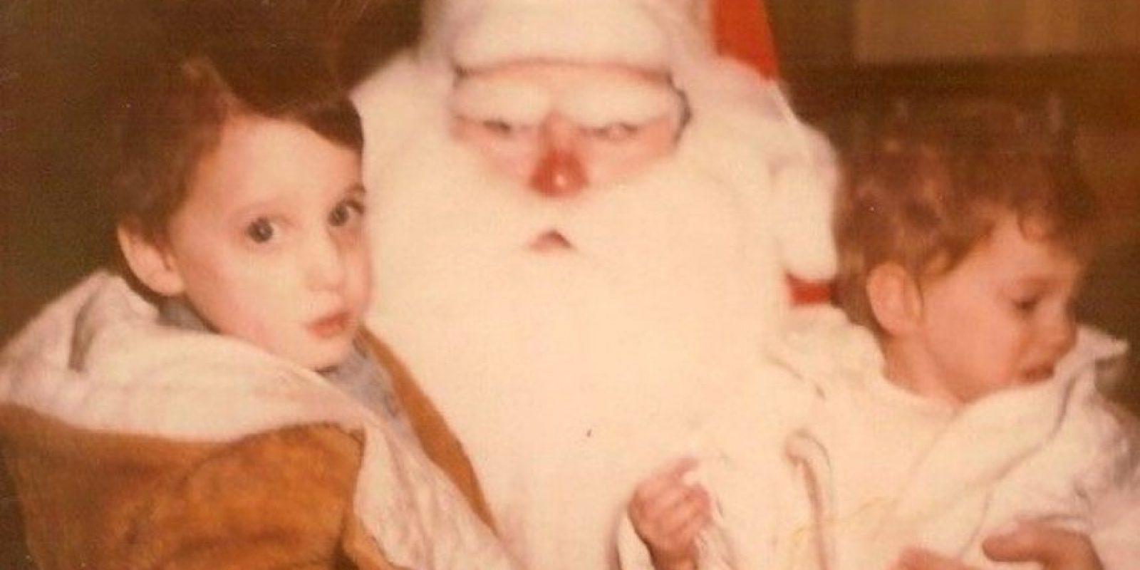 Santa Claus te odia. Foto:Awkward Family Photos
