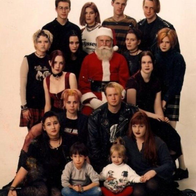 Alguien rescate a Santa. Foto:Awkward Family Photos