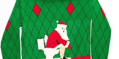 Santa es tan humano como nosotros. Foto:Imgur