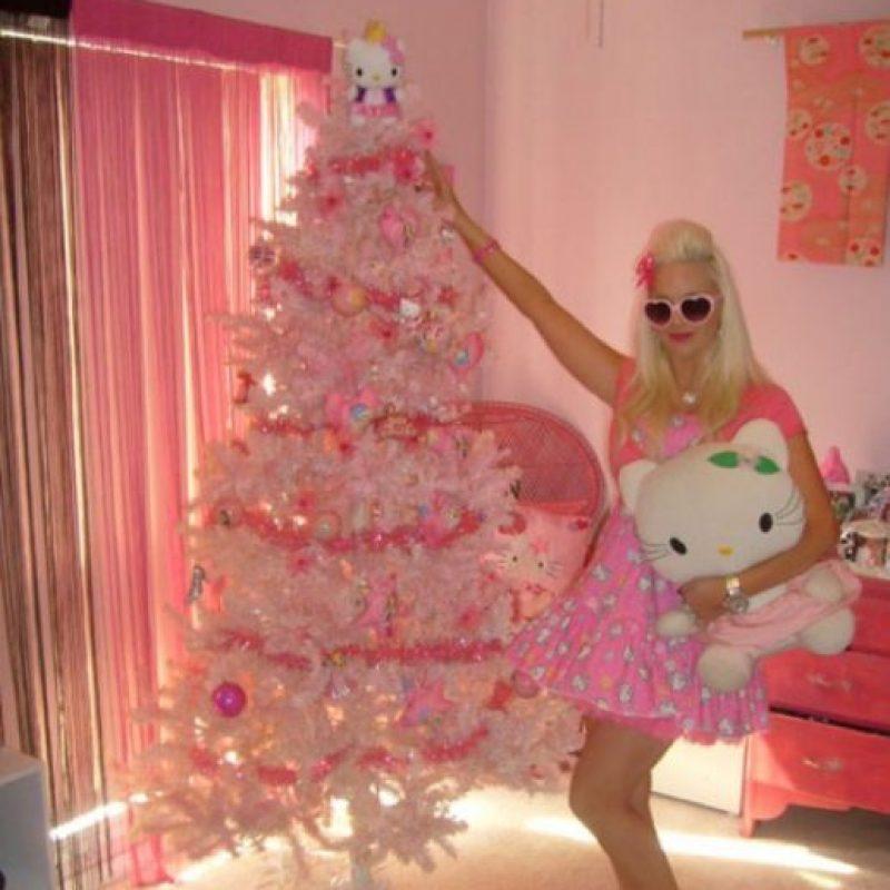 Paris Hilton tiene su árbol Foto:Reddit