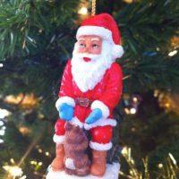 ¿Qué estás haciendo, Santa? Foto:Reddit