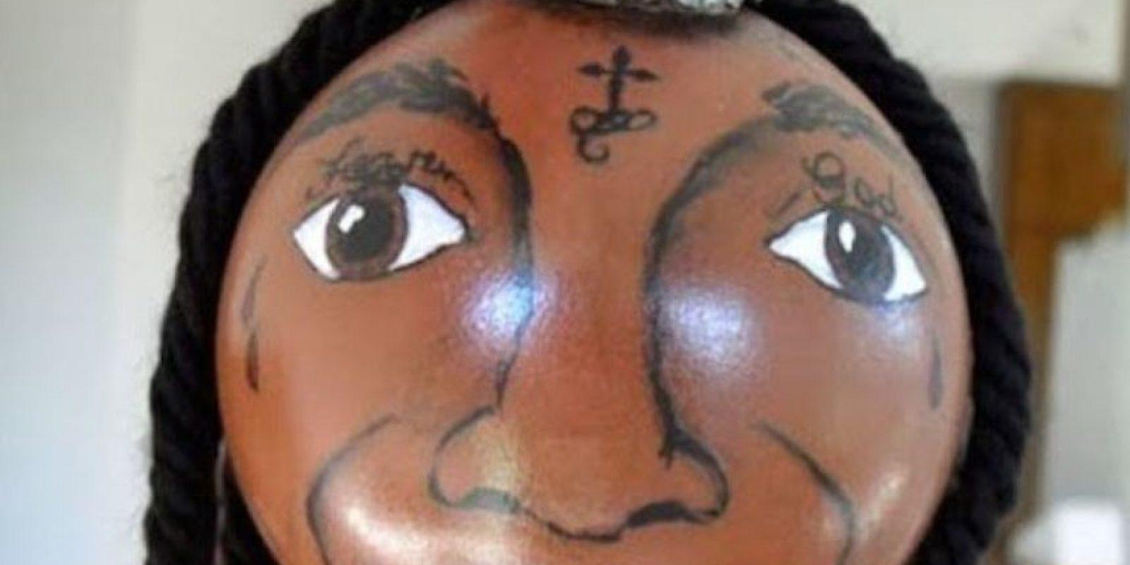 Lil Wayne tiene su propia bola de Navidad. Griten. Foto:Imgur