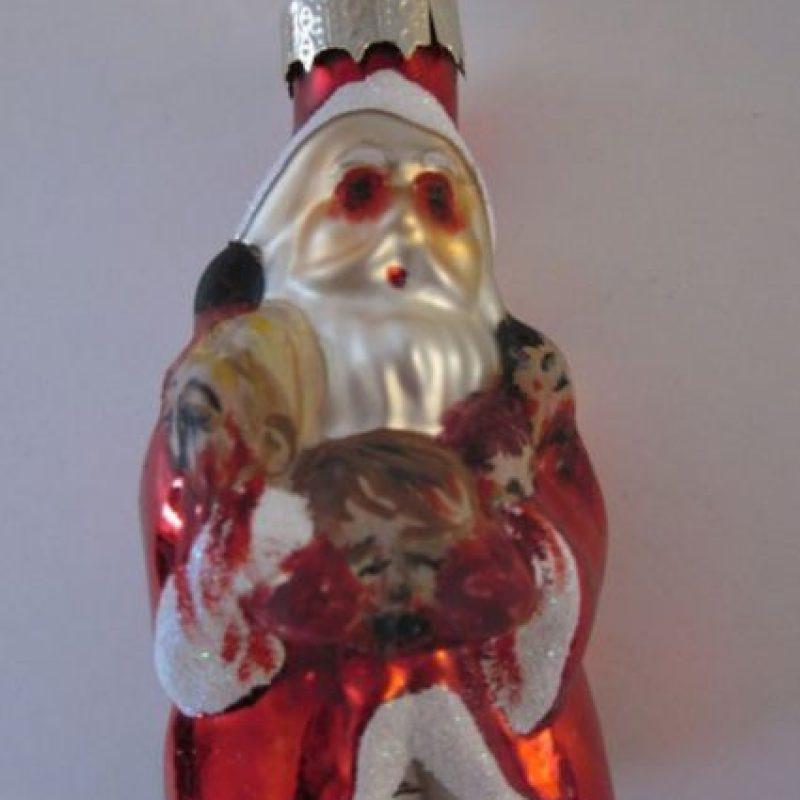 Santa explotó de estrés e hizo esta barbaridad. Foto:Etsy