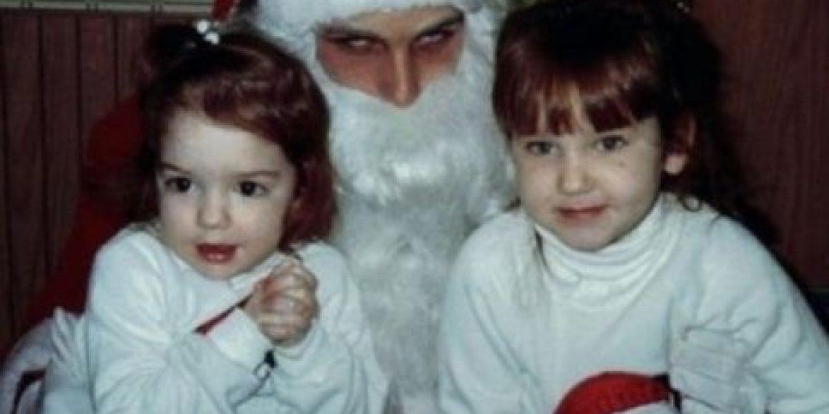 FOTOS: 25 Santa Claus que los aterrorizarán