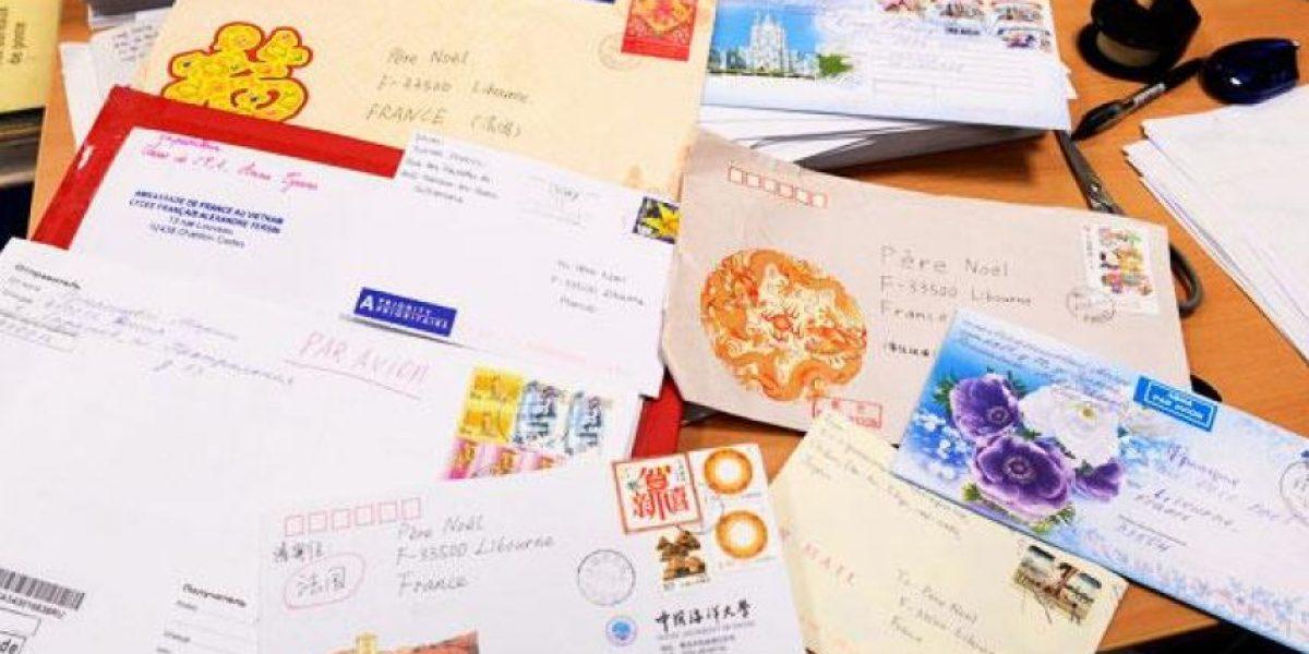 Gran cantidad de cartas son enviadas en diciembre