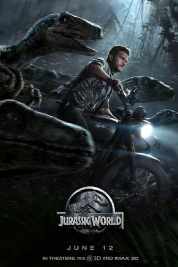 "2. ""Jurassic World"", con 33 errores Foto: IMDb"