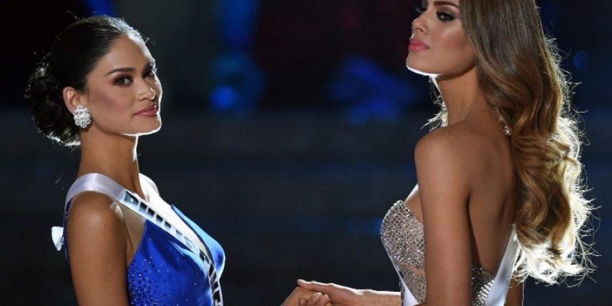 FOTO. Miss Filipinas rompe el silencio y le dedica un mensaje a Miss Colombia