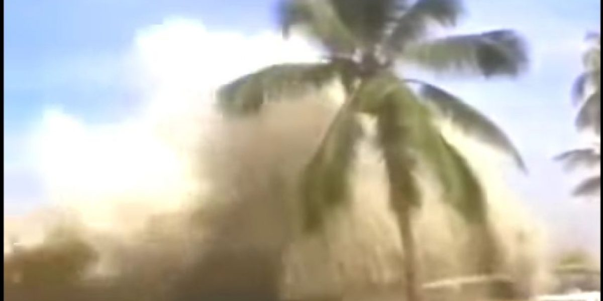 VIDEO. Las imágenes más impactantes del tsunami de 2004