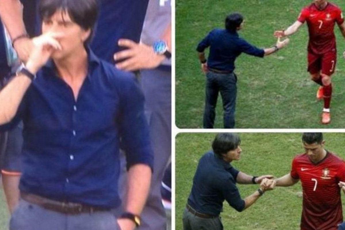 Dicen que su víctima fue Cristiano Ronaldo. Foto:vía Twitter.com