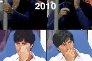Un recuento de las veces que ha sido fotografiado con los dedos en la nariz. Foto:vía Twitter.com
