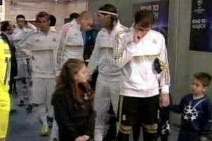Aquí en 2012 durante un partido de la Champions League. Foto:vía Twitter.com
