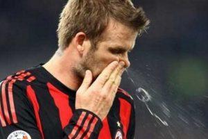 El inglés David Beckham. Foto:vía Twitter.com