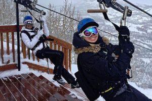 Fue criada por su mamá, con quien fue a realizar deportes de invierno Foto:Instagram.com/TiffanyTrump