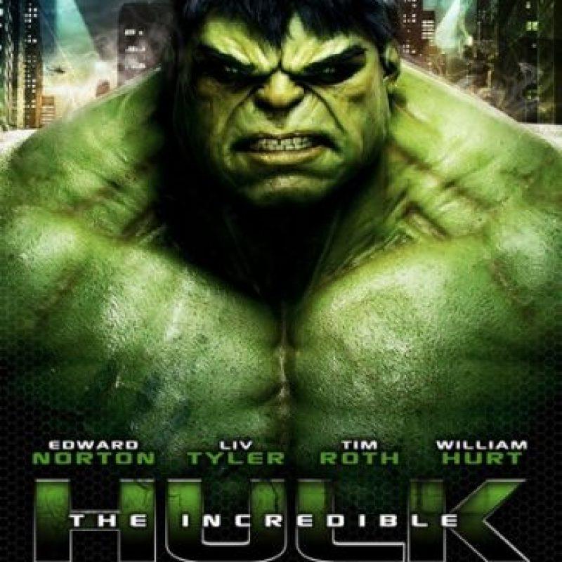 """Edward Norton fue el encargado de interpretar a """"Bruce Banner"""" (""""Hulk"""") en la segunda película del Universo cinematográfico de Marvel. Foto:Marvel"""