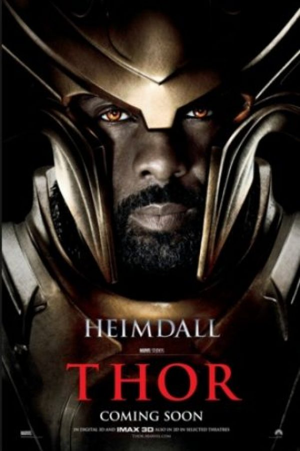 "Idris Elba interpretó a ""Heimdall"" en ""Thor"" y ""Thor: The Dark World"" Foto:Marvel"