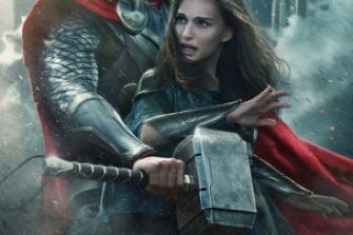 """Natalie Portman tuvo problemas con sus directores. Primero renunció al proyecto Kenneth Branagh, director de la primera película de """"Thor"""". Foto:Marvel"""