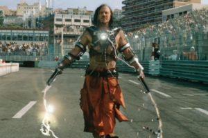 """Mickey Rourke interpretó al villano """"Whiplash"""" en la peor película de la trilogía """"Iron Man"""". Foto:Marvel"""