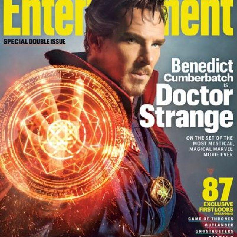 """""""Stephen Strange"""" es un médico especializado en neurocirugía, codicioso y egocentrista…. Foto:""""Entertainment Weekly"""""""