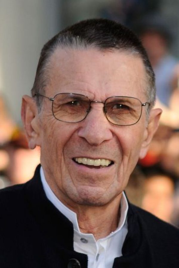 """1. Leonard Nimoy, el legendario """"Sr. Spock"""" de """"Star Treck"""" falleció a los 83 años el 27 de febrero de 2015. Foto:Getty Images"""