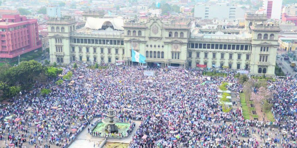 Guatemala no es la misma luego de #RenunciaYa
