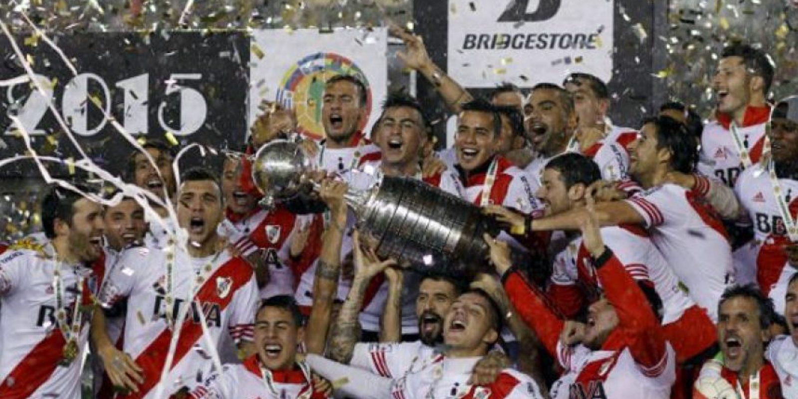 """Los """"Millonarios"""" superaron en la final a Tigres y obtuvieron su pase al Mundial de Clubes, donde cayeron en la última instancia con Barcelona Foto:Getty Images"""