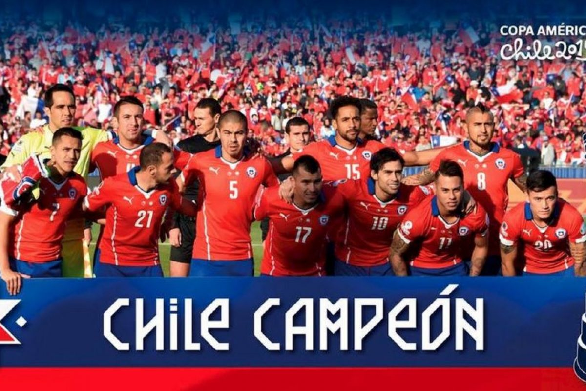 8. Chile, monarca de la Copa América Foto:Getty Images