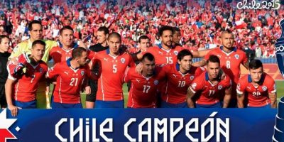 8. Chile, monarca de la Copa América Foto: Getty Images