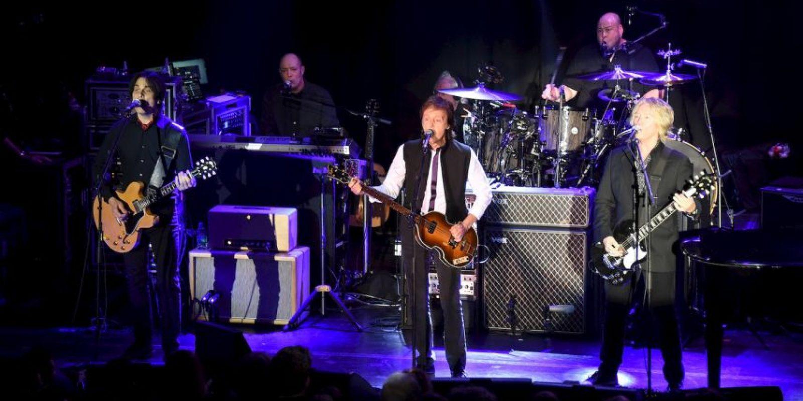 The Beatles fue una de las más populares e influyentes bandas de la historia de la música. Foto:Getty Images