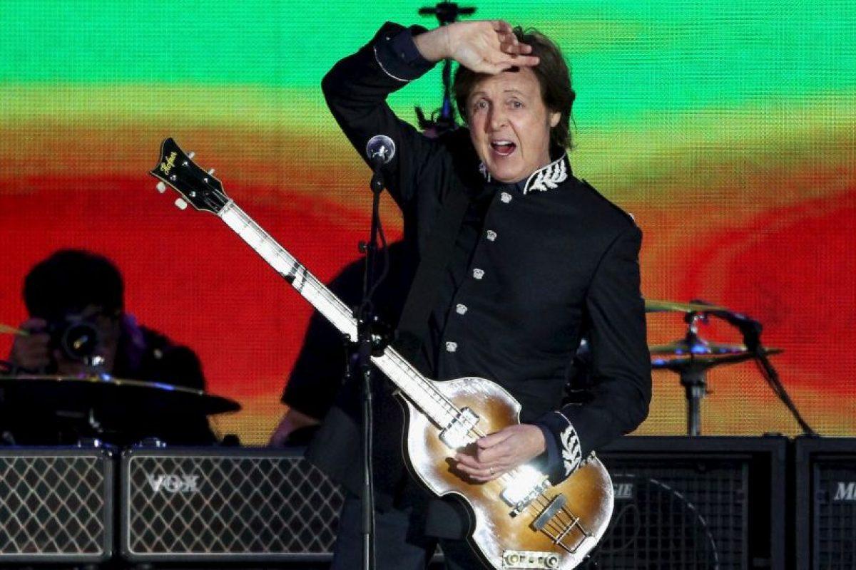 McCartney ha sido reconocido como uno de los compositores y artistas más exitosos de todos los tiempos, con sesenta discos de oro. Foto:Getty Images