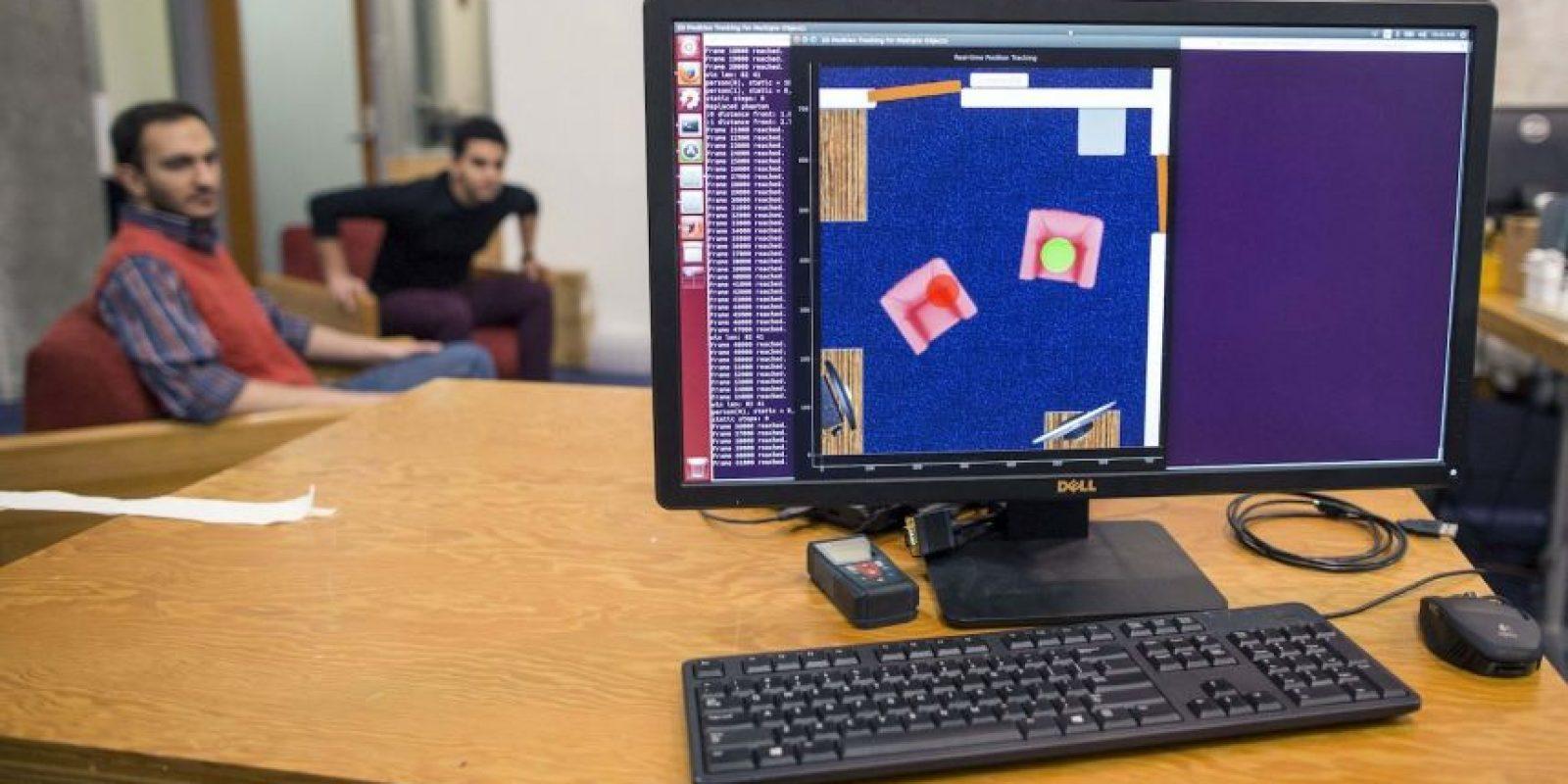 El software detecta cuando las personas se mueven o caminan. Foto:AP