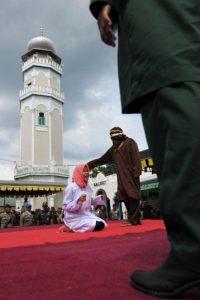 Recibió cinco azotes Foto:AFP