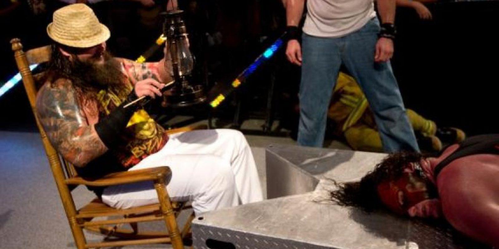 """El """"Devorador de mundos"""" apareció por primera vez en el SummerSlam de 2013 Foto:WWE"""