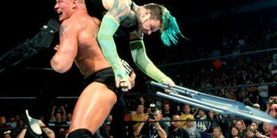 """""""La Bestia"""" apareció por primera vez en el Backlash de 2002 Foto:WWE"""