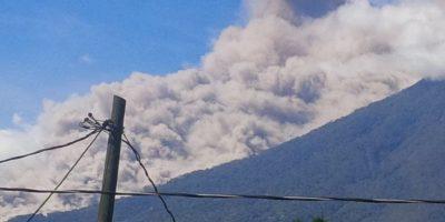 Insivumeh monitorea actividad del volcán de Fuego