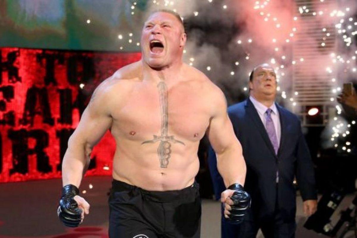 """""""La Bestia"""" es la única persona que ha sido campeón de WWE y UFC Foto:WWE"""