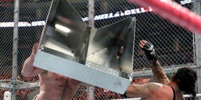 Y también el único que ha podido vencer al Undertaker en Wrestlemania Foto:WWE