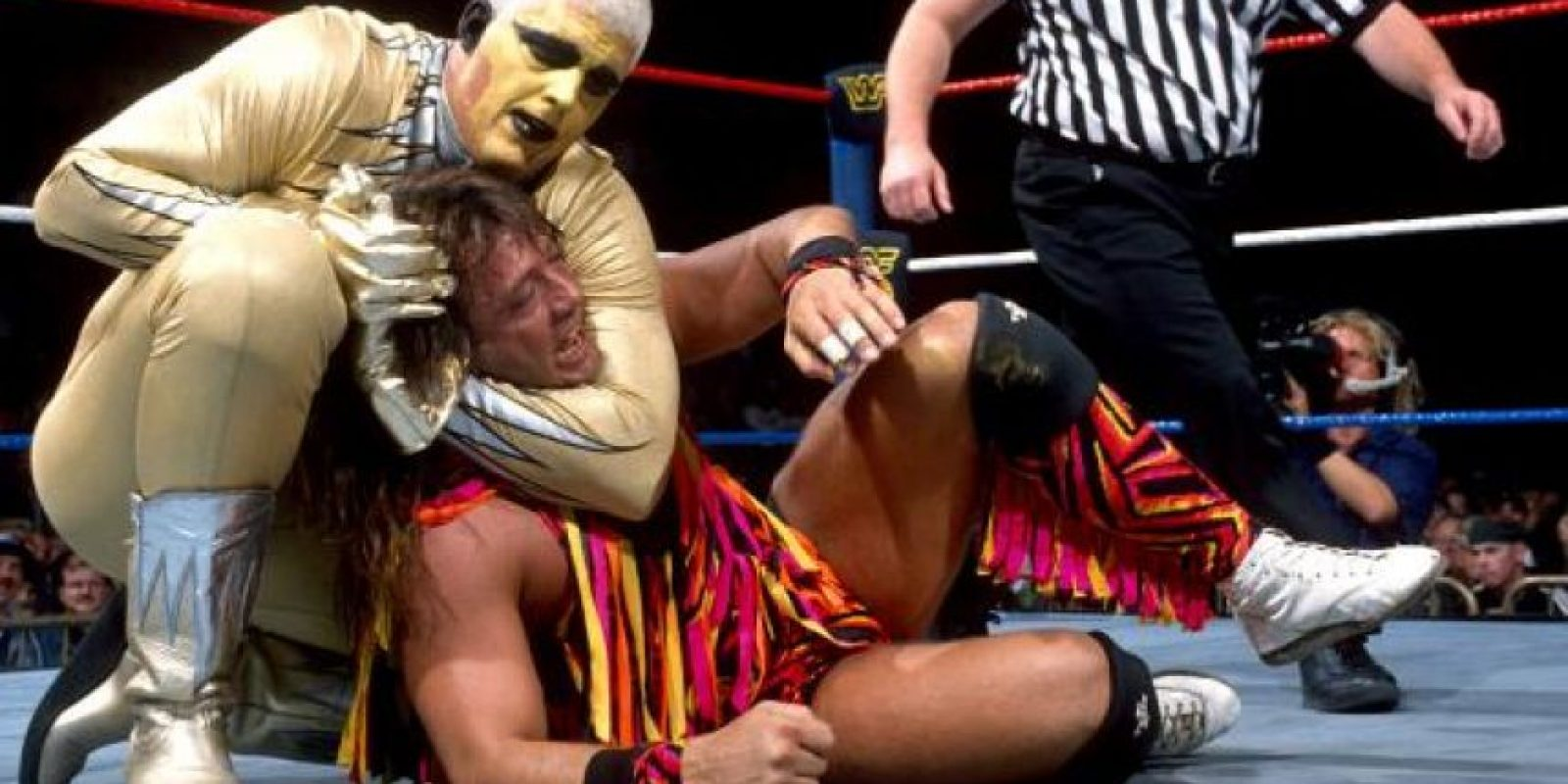 """El """"Dorado"""" apareció por primera ocasión en In Your House, el 22 de octubre de 1995 Foto:WWE"""