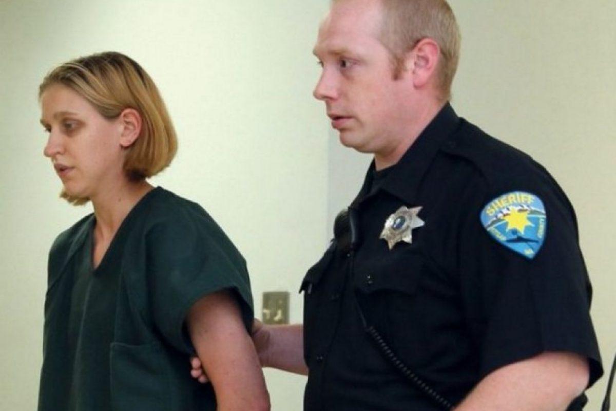 Jessica M. Fuchs pasará ocho meses tras las rejas. Foto:vía Kidsap Sun