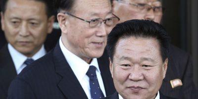Kim Yang Gon, el segundo hombre más importante de Corea del Norte Foto:AP