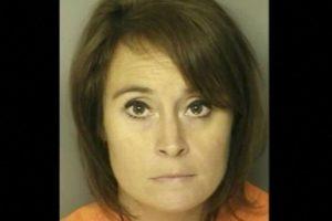 Ann Hope, profesora de Carolina del Sur, fue arrestada por tener relaciones con un exestudiante de secundaria. Foto: J. Reuben Long Detention Center