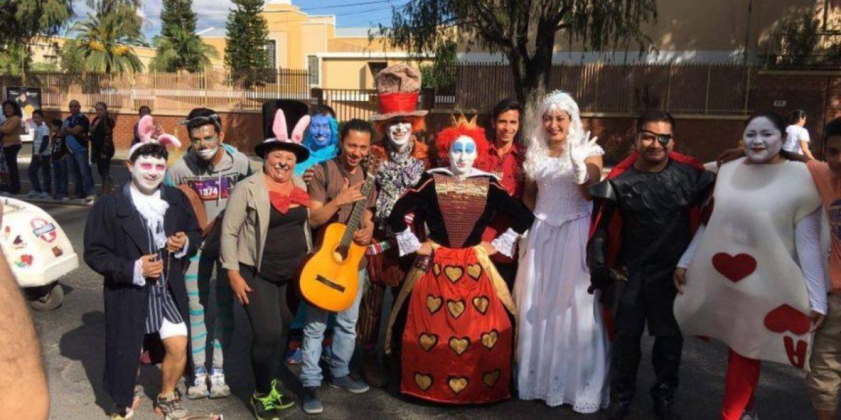 Los mejores disfraces de la #SanSilvestre2015