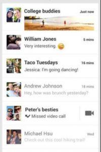 Hangouts Foto:Google Inc.