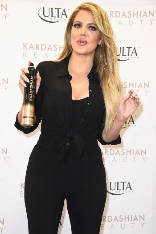 Sin embargo, la figura de Khloé no es tan delgada. Foto: Getty Images