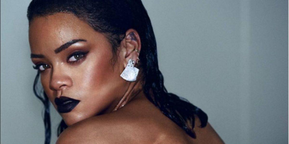 FOTOS. El extraño y nada sexy vestido de Año Nuevo de Rihanna